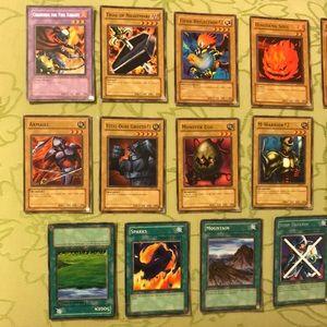 17 Yu-Gi-Oh cards